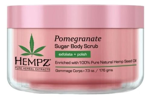 Скраб для тела Сахар и Гранат / Body Scrub - Sugar & Pomegranate (176g)