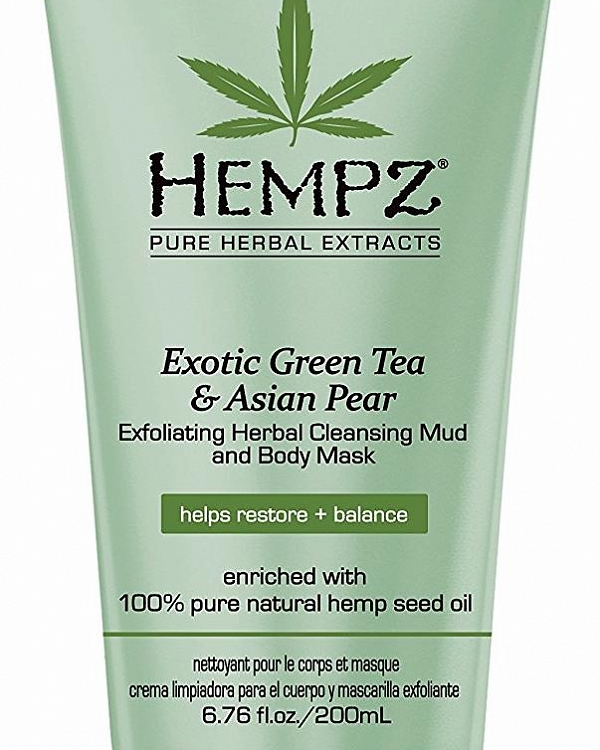 Маска-глина отшелушивающая/Exotic Green Tea & Asian PearExfoliating Cleansing Mud&Mask (200ml)